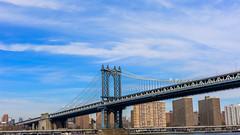 Manhattan bridge (pn.praveen) Tags: nyc newyork manhattanbridge