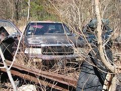 JUNK LEBARON (richie 59) Tags: trees usa ny newyork cars car america outside us spring weeds junk unitedstates weekend sunday headlights grill vehicles faded newyorkstate junkyard chrysler autos oldcar oldcars automobiles nys nystate frontend hudsonvalley lebaron 2016 americancar motorvehicles fadedpaint ulstercounty 4door junkcars uscar midhudsonvalley marooncar fourdoor midhudson ulstercountyny 4doorsedan chryslercorporation fourdoorsedan chryslerlebaron 2010s oldchrysler richie59 1990scar townofshawangunk townofshawangunkny april2016 april171016