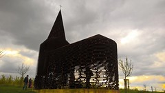 See-through Church (Mado AwaD) Tags: sky building green tower church skyline architecture skyscraper ma temple spring belgium outdoor april brilliant mado 2016