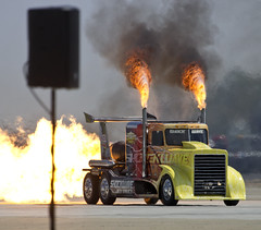 2016 Airpower over Hampton Roads Langley Air Show Virginia - Shockwave Jet Truck (watts_photos) Tags: show truck virginia power air over jet wave va shock roads hampton langley airpower shockwave 2016