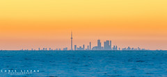 Toronto from St. Catharines (Chris Liszak Photography) Tags: sunset lake toronto ontario canada color colour wow photo sharp stunning stcatharines lakeontario nikond3200 chrisliszakphotography