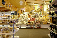 Wine and cheese shop (A. Wee) Tags: food france alps shop valthorens  troisvalles les3valles