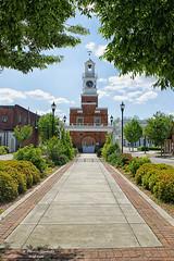 Winnsboro Clock Tower (thahawk) Tags: tower clock sc bell rear southcarolina backside fairfield winnsboro thahawk