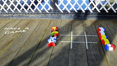 have a game 01 (byronv2) Tags: bridge playing game color colour history scotland canal edinburgh colours flag engineering flags tictactoe unioncanal edimbourg fountainbridge polwarth leamingtonliftbridge knotsandcrosses knotscrosses