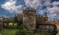 Belgrade Fortress (Vagelis Pikoulas) Tags: city panorama castle archaeology architecture canon landscape march spring view capital serbia panoramic tokina balkans belgrade fortress beograd 6d 2016 archaelogical 1628mm