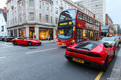 Red Crew #2 (MT Supercars) Tags: red england london cars car italian huracan ferrari crew lamborghini supercar supercars f12 berlinetta f12berlinetta lp6104 mtsupercars