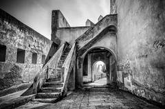 Castello Aragonese di Baia, Italy (FedeSK8) Tags: blackandwhite italy architecture napoli bacoli baia sigma1020mm castelloaragonese campiflegrei fedesk8 federicoscotto nikond7000