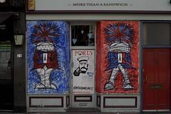 More than a statement (IanAWood) Tags: streetart london graffiti urbandecay westend newoxfordstreet londonstreetphotography walkingwithmynikon nikondf nikkorafs58mmf14g