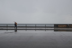 DSC_0017 copia (agnese_mari) Tags: sea italy rain photography mirror photo reflex nikon italia mare napoli naples pioggia lungomare riflesso mergellina d3100
