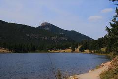 View across Lily Lake to Estes Peak and Lightning Mountain - rocky Mountain National Park, Colorado (danjdavis) Tags: mountains nationalpark colorado mountainlake rockymountainnationalpark lilylake estespeak lightningmountain