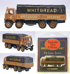EFE-10802-AEC-Whitbread (adrianz toyz) Tags: scale beer truck toy model whitbread brewery oo gauge efe diecast 176 aec 10802 dropside