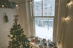 Hey Look! Our first snow of the season! (Jonmikel & Kat-YSNP) Tags: winter snow me mainstreet december maine select rockland rocklandme fristsnow
