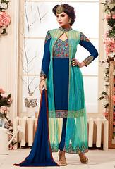 Blue Net And Georgette Kameez With Jacket (nikvikonline) Tags: blue fashion women suit frock colorblue casualwear salwarkameez partywear womenswear dailywear bluerock womenclothing fashiondress salwarsuit womenfashion bluewear onlinewomens stylishsuits bluesalwar pakistanisuit pakistaniwear pakistanisalwarsuit stylwear bluekameez