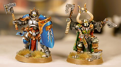 Brothers Front (seaottre68) Tags: chaos order citadel grand games age workshop axe warhammer knight dual alliance sigmar