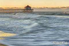 Rubys at Sunrise (debbie_dicarlo) Tags: ocean california seascape sunrise landscape pacificocean huntingtonbeach oceanpier beachsunrise