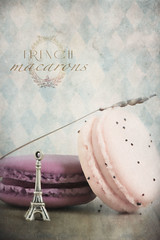 French macarons (Ro Cafe) Tags: pink stilllife painterly kitchen purple textured macarons sweetmeats nikond600 nikkormicro105f28