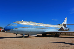 Sud est SE-210 Caravelle VIR n° 86 ~ N1001U (Aero.passion DBC-1) Tags: museum plane tucson aircraft aviation musée pima preserved avion airmuseum sud est airspacemuseum caravelle se210 aeropassion muséedelair dbc1 préservé n1001u