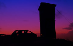 n top of Ymittos (Vassilis Online) Tags: sunset sundown athens opel watchtower sunsetcolors opelcorsa ymittos firewatchtower sunsethour picmonkey