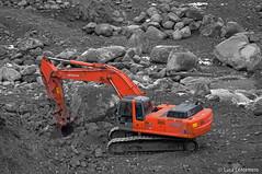 HITACHI ZAXIS 350 LCN (Luca.Centemero - www.trainpixel.com) Tags: 350 hitachi escavatore lcn zaxis