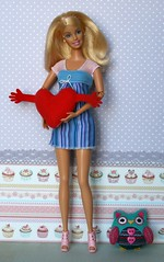 Monica (Emily-Noiret) Tags: family 2002 baby vintage happy doll barbie doctor blonde mattel