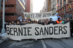 bernie-9596 (teqmin) Tags: nyc blue demo march support rally demonstration bernie unionsquare lowermanhattan youngpeople multigenerational handmadesigns berniesanders votebernie tequilaminsky feelthebern marchtozuccottipark heartfeltsigns americaneedsapoliticalrevolution