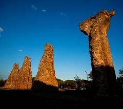 Old Frejus, south of France (s.razura) Tags: old france stone canon bluesky southoffrance goldenhour frejus 5dclassic