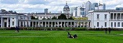 Greenwich park (chrischeverst) Tags: park city summer london grass lines skyline relax nikon cityscape greenery greenwichpark d90 nikond90