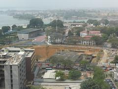 Vue du quartier 'Le Plateau' d'Abidjan (Citizen59) Tags: plateau centre bad cte le palais cote ci janvier ville afrique quartier abidjan leplateau 2016 divoire cvi ivoire junuary prsidentiel