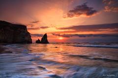 onjuku boso (koshichiba) Tags: blue light sunset sea orange seascape nature rock japan canon landscape eos long exposure magic tide wave explore shore lee  boso  onjuku   ndfilter f4l   bouso onjyuku  5dsr ef1124mm
