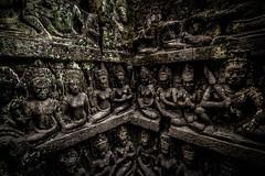 Terrace of the leper king (faisolreload) Tags: canon cambodia sigma 1020mm siemreap angkor hindu 70d