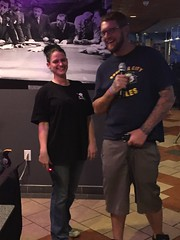 "Wednesday night karaoke at Sunset Downtown Water Street in Henderson Nevada • <a style=""font-size:0.8em;"" href=""http://www.flickr.com/photos/131449174@N04/24453561193/"" target=""_blank"">View on Flickr</a>"