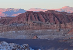 Chile-Atacama desert-Valle della luna at sunset (venturidonatella) Tags: chile sunset panorama latinamerica colors america landscape nikon tramonto atacama colori cile d300 moonvalley atacamadesert valledellaluna nikond300