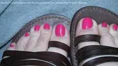 Rimmel | Posh Pink (markrudolph203) Tags: man color colour male guy toes toe nail polish dude nails toenail enamel rimmel poshpink