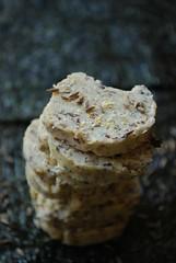 Nori Butter (caprilemon) Tags: food sesame salt butter algae sesameseeds cumin nori yuzu seasalt cayennepepper lemonzest compoundbutter