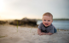 Growing Up (Jamie Frith) Tags: sunset portrait baby beach 50mm nikon perth westernaustralia d800 applecross