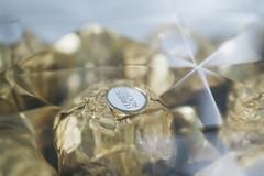 Ferrero Rocher (thisnoiseisnameless) Tags: food macro texture gold nikon bokeh chocolate gift ferrerorocher d3200 vsco filmemulation vscofilm
