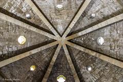 DSC0227 Santa Mara de Eunate, siglo XII, Navarra (ramonmunoz_arte) Tags: santa de arte xii mara navarra templarios siglo romnico eunate