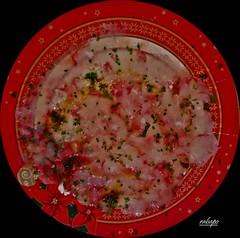 carpaccio de gambas con vinagreta (rabapo) Tags: comer gambas carpaccio vinagreta rabapo