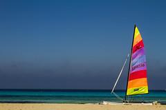 Windsurf at Illetes (alfonsocarrera@ymail.com) Tags: colors mediterranean colours formentera windsurf naturalpark illetes