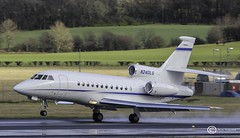 Dassault Falcon 900EX  N240LG (udaloy) Tags: uk plane airplane scotland airport unitedkingdom aircraft aviation aeroplane prestwick pik ayrshire dassault aeronautical privateaircraft jetaircraft prestwickairport dassaultfalcon glasgowprestwickairport n240lg charliekirkpatrick