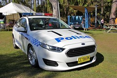 2014 Ford FG-X Falcon sedan - NSW Police (sv1ambo) Tags: new ford wales sedan south lakes police lac nsw falcon 2014 tuggerah fgx