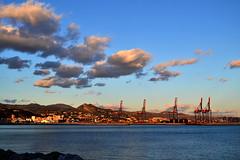 (Katsuhiro Rodrguez) Tags: clouds mar andalucia nubes malaga mlaga