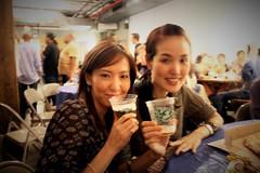 Hiroko & Yoko (JuhaOnTheRoad) Tags: woman usa newyork girl brooklyn williamsburg