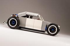 Salty Bug _01 (_Tiler) Tags: car vw race volkswagen lego hotrod vehicle volksrod