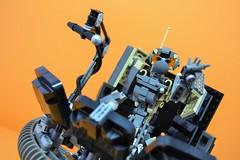 Decibelle_09 (Shadowgear6335) Tags: orange radio robot factory lego good technic hero bionicle mech moc shadowgear6335 bionicle2015