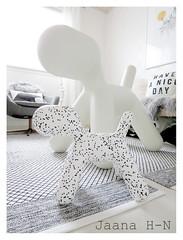 New Puppy XS Dalmatian (Jaana H-N) Tags: white home puppy design decoration decor dalmatian magis eeroaarnio finnishdesign nordicdesign