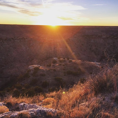 #sunrise #palodurocanyon #Texas #tpwd 74:366