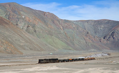 Along the river (david_gubler) Tags: chile train railway llanta potrerillos ferronor