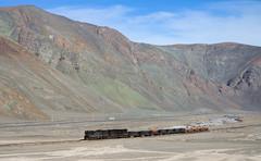 Along the river (david_gubler) Tags: chile train railway llanta potrerillos ferronor