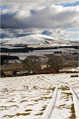 Tracks_8473 (The Terry Eve Archive) Tags: snow mountains scotland rust hill wilderness moray moorland cabrach rustyroof